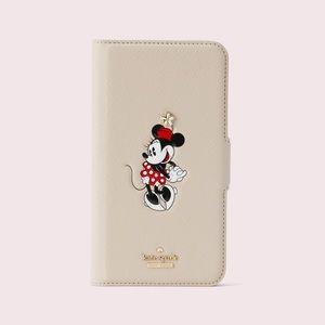 Kate Spade   Minnie Mouse folio case iPhone 11 Pro